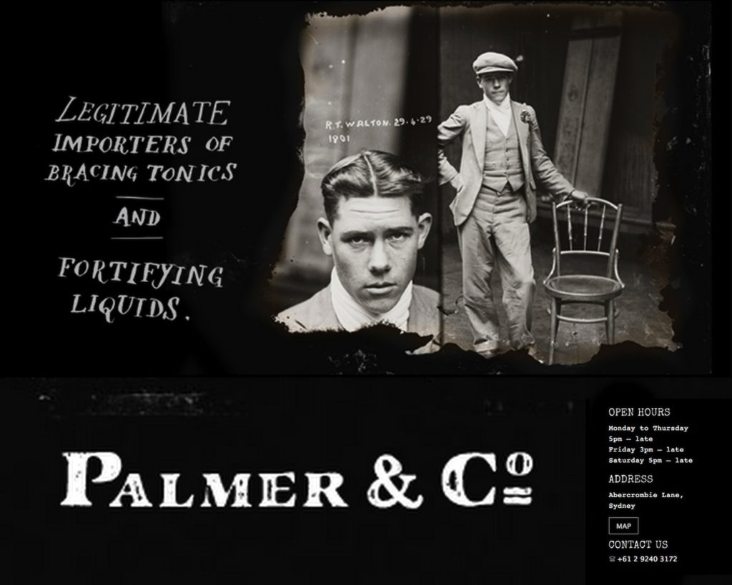 Palmer & Co Advertisement