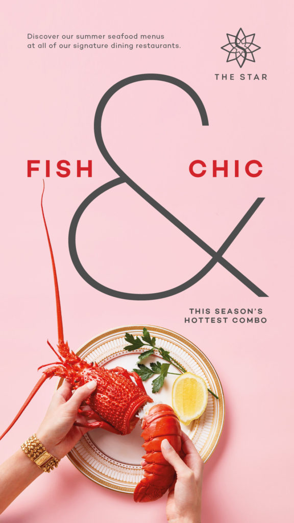 The Star Summer Campaign Fish and Chic