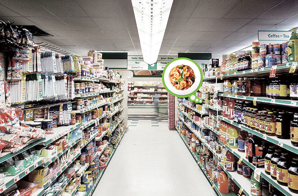Knorr in the Supermarket