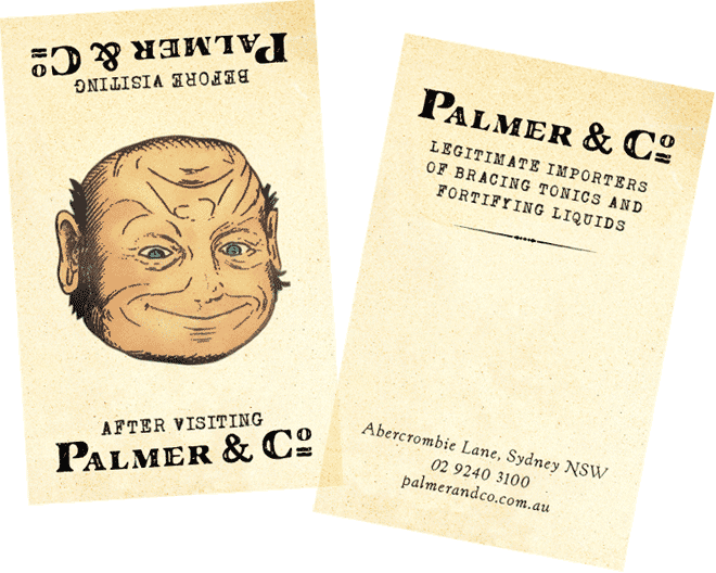 Palmer & Co Business Cards for Merivale